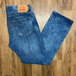 Levi's 501 Classic Fit Distressed Jeans Size 36x31